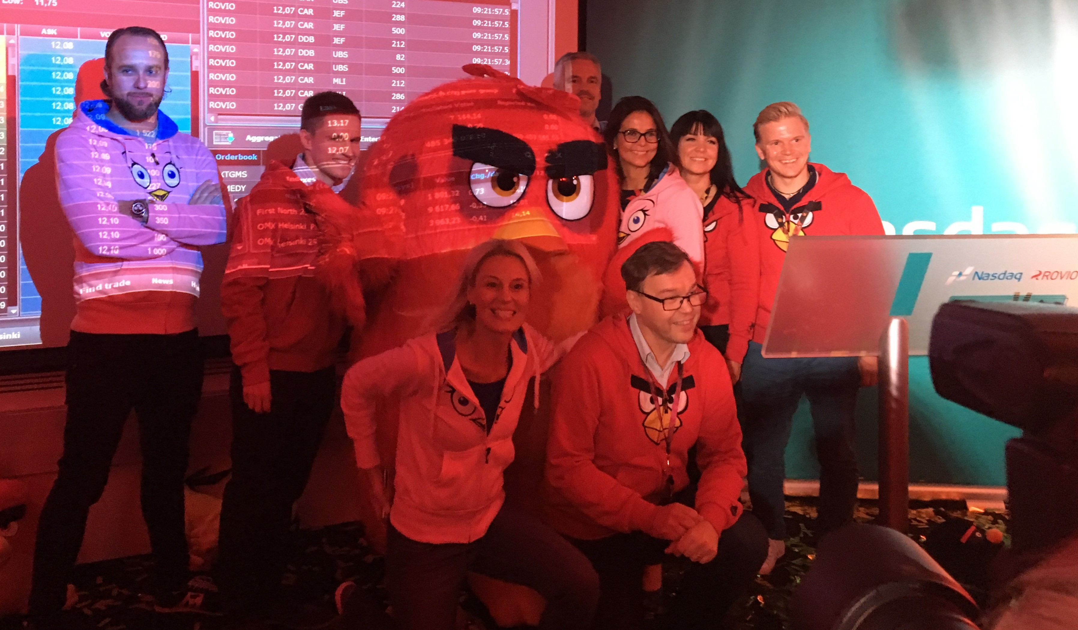 Rovio's Unlikely Journey to their IPO